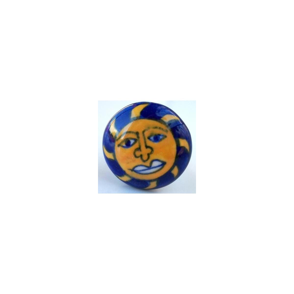 Bouton de meuble soleil ethnique 2 90 mf1 - Bouton apres coup de soleil ...