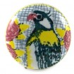 Parrot Crackle Glaze Knob