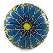 Blue and Red Mandala Knob