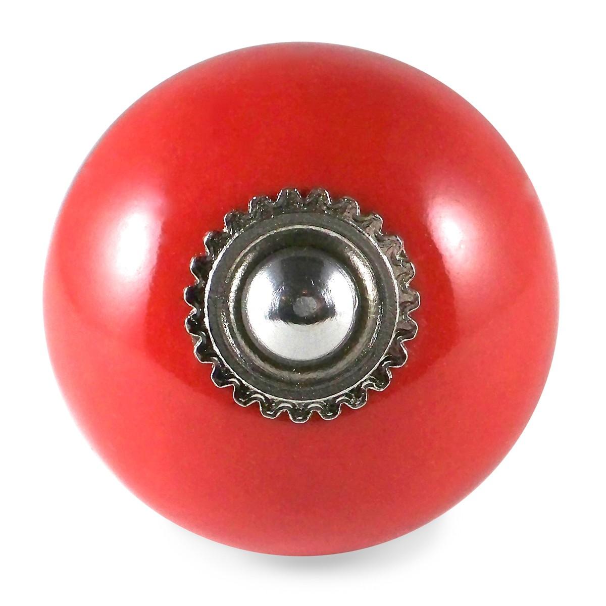 Plain Red Knob 3 90 Traditional Bu7