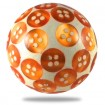 Orange Buttons Resin Knob