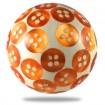 Bouton de Meuble Résine Boutons de Culottes Orange