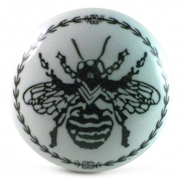 bouton de meuble abeille vintage. Black Bedroom Furniture Sets. Home Design Ideas