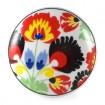 Bouton de Meuble Fleurs Années 50