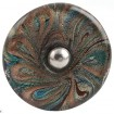 Multicolour Glass Knob
