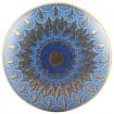 Bouton de Meuble Art Déco Bleu et Or