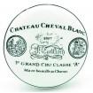 Bouton de Meuble en Porcelaine Cheval Blanc