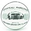 Bouton de Meuble en Porcelaine Blanche Chateau Margaux