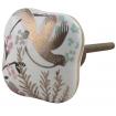 Golden Bird Porcelain Knob